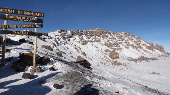 Kilimanjaro-Route